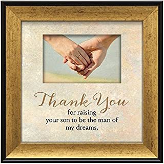 "product image for Imagine Design 7.5""x7.5"" Thank/Son Touching Thoughts Framed Wall Art, 7.5"" x 7.5"""