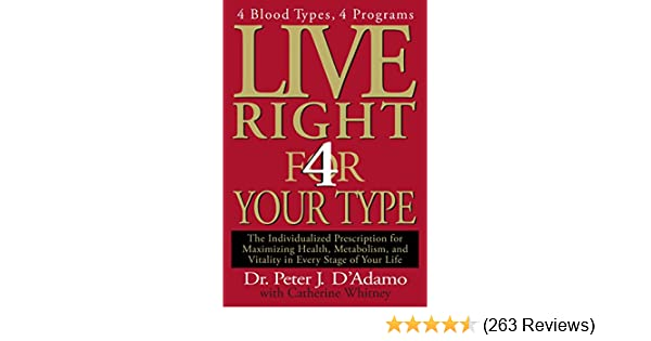 Live Right 4 Your Type (Eat Right 4 Your Type)