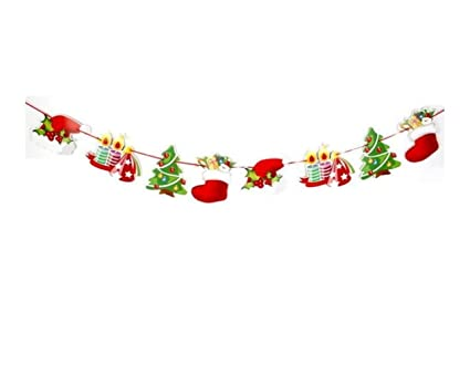 Amazon.com: Very Useful and Durable Christmas Cartoon Paper Bunting Holiday  Scene Decorating Christmas Decorations(Candle Hat ): Toys & Games - Amazon.com: Very Useful And Durable Christmas Cartoon Paper Bunting