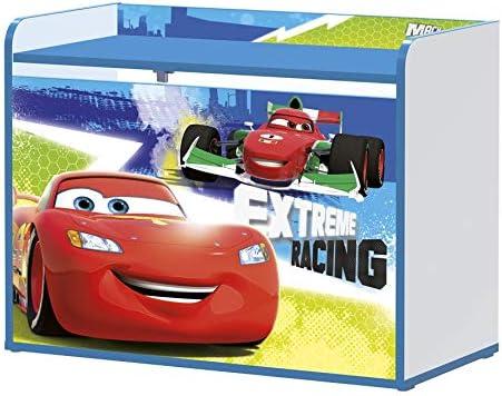 Stor - Baúl Infantil Charm para juguetes | CARS RACERS - RAYO MCQUEEN | Disney - Dimensiones 80 x 60 x 40 cm. - Varios Personajes: Amazon.es: Bricolaje y herramientas