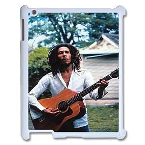YUAHS(TM) Customized Hard Back Cover Case for Ipad 2,3,4 with Bob Marley YAS138389