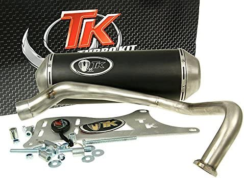 150 Auspuff Turbo Kit GMax 4T f/ür Kymco Dink Yager Spacer 125