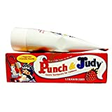 THREE PACKS of Punch & Judy Childrens Toothpaste Strawberry