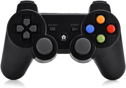 Vbestlife Gamepad Inalámbrico del Juego 2.4G Bluetooth para Teléfono Inteligente TV Ordenador,Negro: Amazon.es: Electrónica