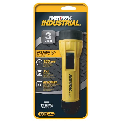 Rayovac Industrial LED 2D Flashlight