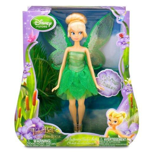 Disney Fairies Costumes Vidia (Fluttering Disney Fairies Tinker Bell Doll -- 10'')