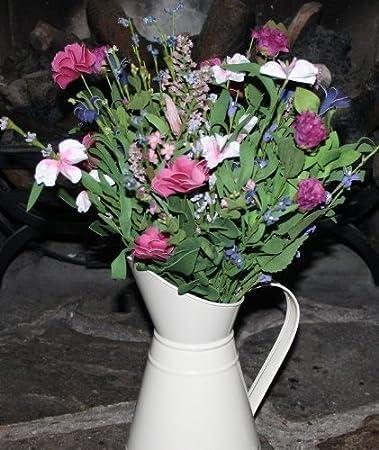 Gemischte Wiesen Blumen Kunstblumen Strauß (533) Dekoration Haus Grab