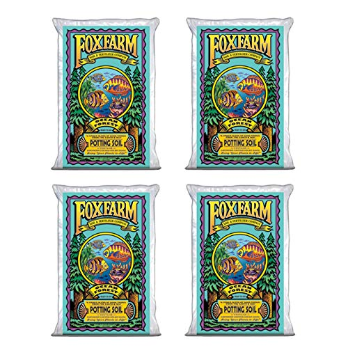 FoxFarm FX14000 Ocean Forest Organic Plant Garden Potting Soil Mix