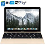 Apple MacBook MK4M2LL/A 12-Inch Laptop with Retina Display 256GB (Gold) - (Renewed)