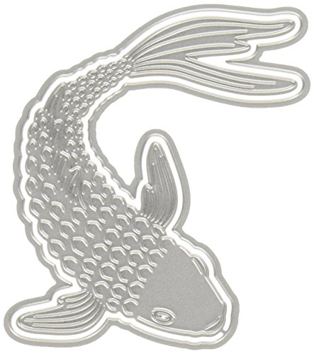 Hero Arts DI336 Paper Layering Koi Fish with Frame Paper Cutting Dies by Hero Arts