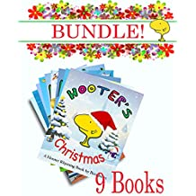 Hooter Can You Guess Bundle (9 Books): Including Hooter's Christmas - Guess what Hooter's looking at from his rhyming clues