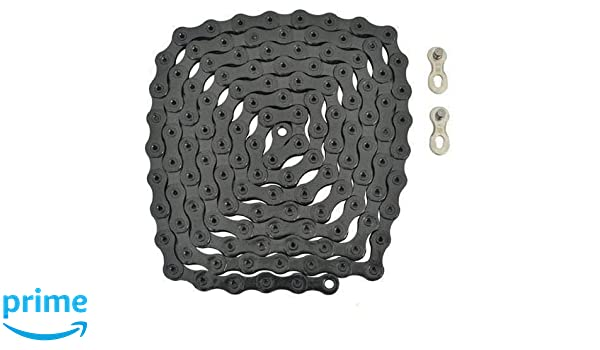 New YBN 12 Speed S12 Bike Bicycle Chain Road MTB 126 Link /& Master Link Gold