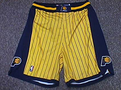 top quality arriving sports shoes Jeff Foster Indiana Pacers Game Worn Shorts at Amazon's ...