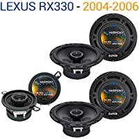 Lexus RX330 2004-2006 Factory Speaker Replacement Harmony (2) R65 R35 Package