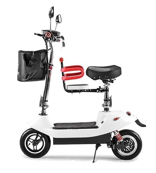 Y&XF Adultos Plegando Bicicletas eléctricas Mini Scooter ...