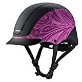 Troxel Spirit Performance Helmet, Purple Boho, X-Small