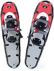 Hewolf Snow Shoes with Adjustable Ratchet Bindings for Women Men
