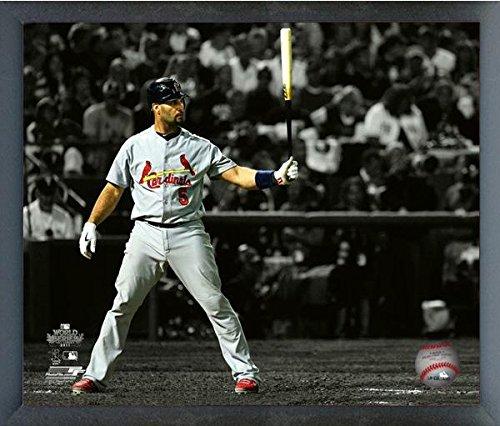 Albert Pujols St. Louis Cardinals World Series Spotlight Action Photo (Size: 17