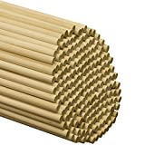 "Wooden Dowel Rods – 3/8"" x 12"" Unfinished Hardwood Sticks – For Crafts and DIY'ers – 1000 Pieces – Woodpecker Crafts"