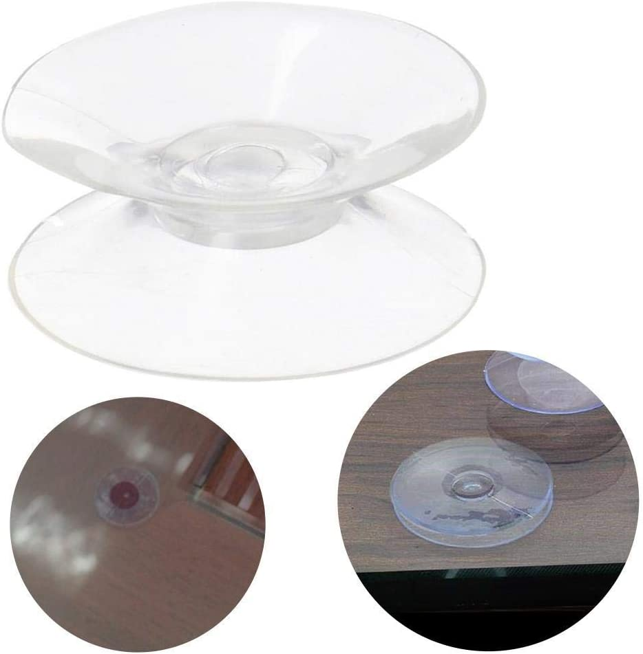 Plastic Sucker Pads Without Hooks for glass plastic,4 Size,20mm,30mm,35mm,50mm ADHG 10Pcs Double sided suction cup