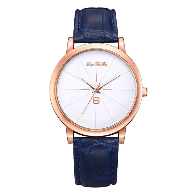 Reloj de Dama Esfera de Reloj de Cuarzo Reloj Mujer Moda Reloj Mujer Moda en Oferta Reloj Mujer Moda Rosa Oro Mymyguoe: Amazon.es: Ropa y accesorios