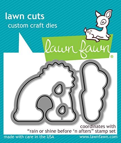 Lawn Cuts Custom Craft Die-rain Or Shine Before 'n -