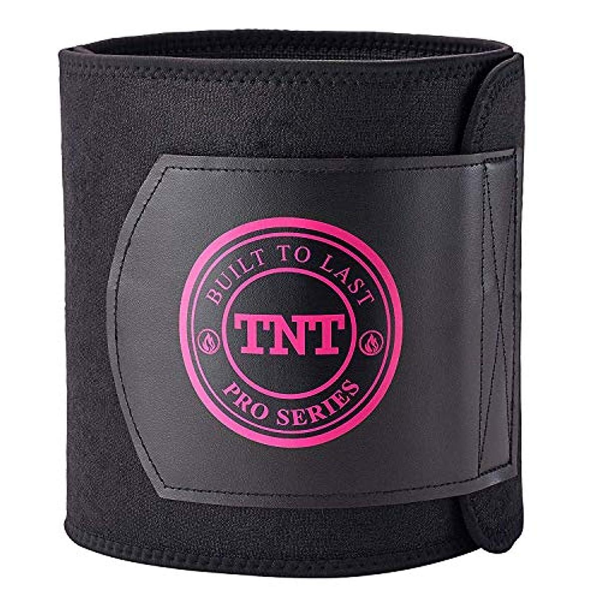 9fb7c24cb6 Details about TNT Pro Series Waist Trimmer Weight Loss Ab Belt Premium  Stomach Fat Burner Wrap