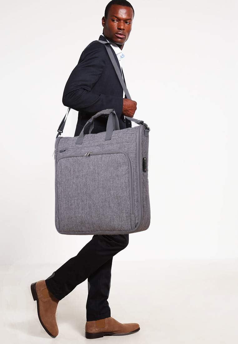 Magictodoor Anti-Gravity Carry On Garment Bag for Travel /& Business 42 w//Anti-theft Tsa Lock