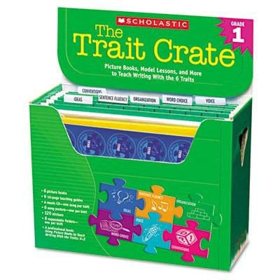 Scholastic - Trait Crate Grade 1 Six Books Learning Guide Cd More ''Product Category: Classroom Teaching & Learning Materials/Teacher's Aids & Manuals''
