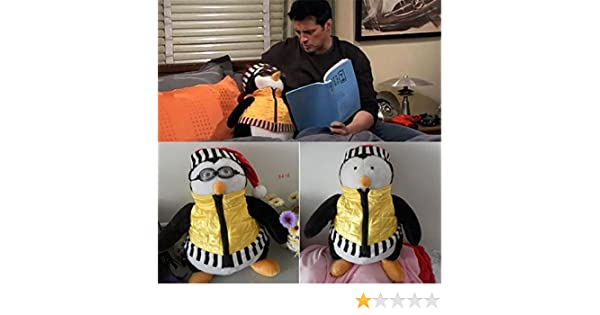 Amazon.com: TV Character Toys Joeys Friend HUGSY PENGUIN Rachel Plush Toy Stuffed Doll 18