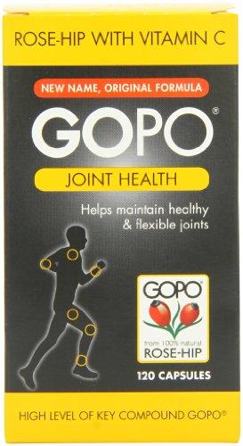 Articulation de la hanche de GOPO Rose santé vitamine C Capsules - Pack de 120