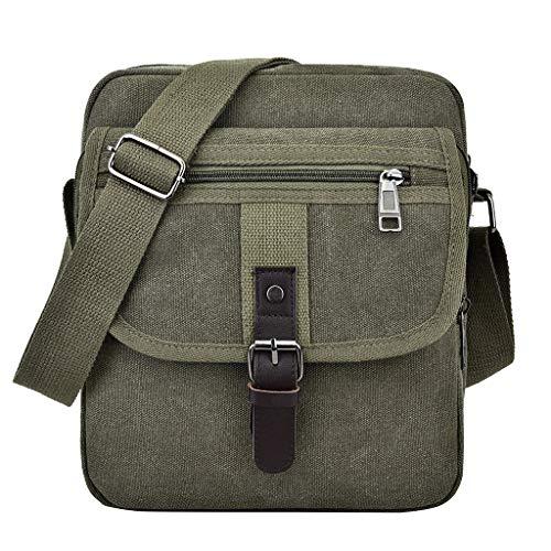 2019 New crossbody Canvas bag for men, Fashion Solid Coin Purse Shoulder Tote, Handbag Casual BagShoulder Purse Bag Tote-Handbag