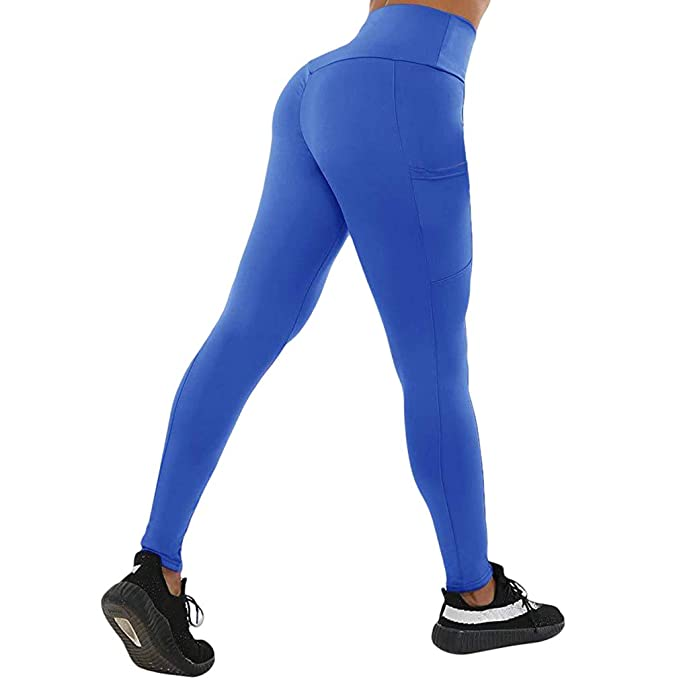 Color Sólido Pantalones Largo, Moda Slim Fit Pantalon de ...