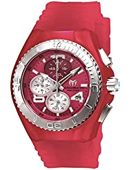 Technomarine Womens Cruise Quartz Stainless Steel and Silicone Casual Watch, Color Pink (Model: TM-115107)