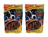 Carolina Prime Pet Peanut Butter Coated Sweet Tater Fries, 5oz (Pack of 2) Review