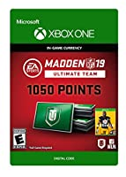Madden NFL 19: MUT 1050 Madden Points Pack - Xbox One [Digital Code]