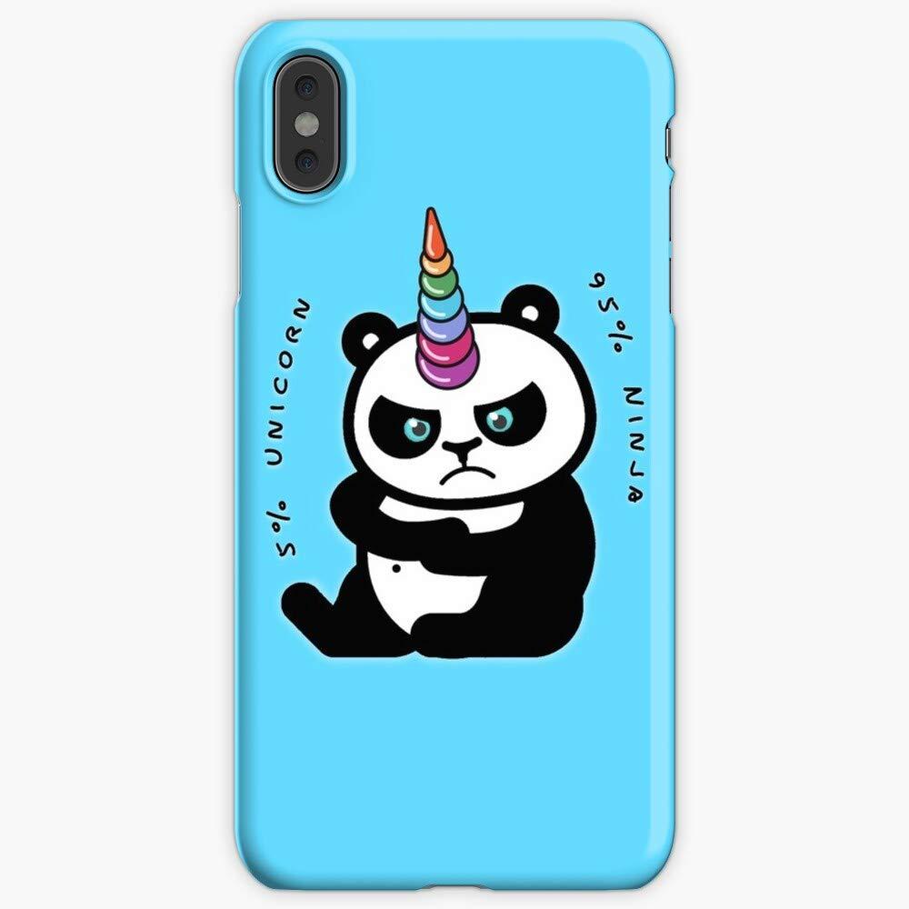 Unicorn Ninja Panda iPhone Case iPhone 7 Plus Case,iPhone 8 Plus Case,iPhone 6 Plus, iPhone XR (iPhone 11 Pro Max)