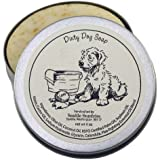 Dirty Dog Soap-100% Natural & Hand Made. Scented with Essential Oils. Shampoo Bar. Handy Travel Gift Tin. Great For Animal Pet Lovers.