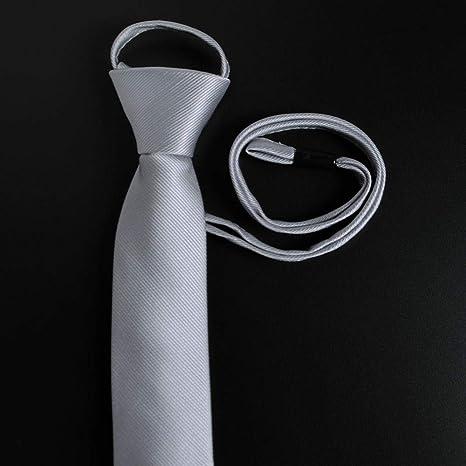 Wangwang454 Cremallera Versión Estrecha Corbata Pequeña Zipper ...