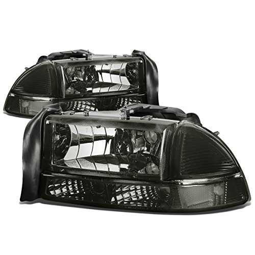 DNA MOTORING HL-OH-DD974P-SM-CL1 Headlight Assembly (Driver & Passenger Side) ()