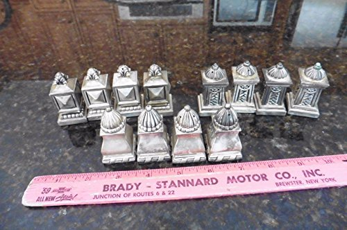 Lot of Silverplate Salt & pepper shakers Table set 12 piece party Vintage style