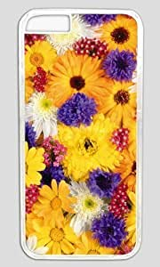 All Nice Flower For You DIY Hard Shell Transparent Best Designed iphone 6 Case