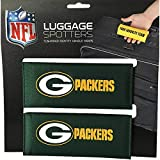 50% OFF! PACKERS Luggage Spotter Suitcase Handle Wrap Bag Tag Locator with I.D. Pocket (2-PACK) CLOSEOUT! THEY ARE SELLING OUT FAST!