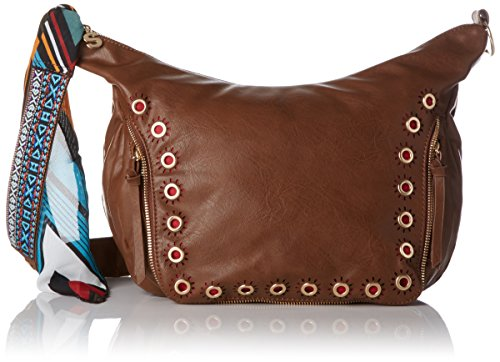 Desigual Brown Marron Janis Bols U t somalia h 5x22 b x cm 12x24 Leather 6091 femme Brown Marron Leather 8Hr8wqRY