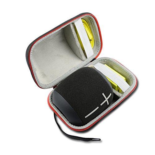 Hard Travel Case Bag for Ultimate Ears UE WONDERBOOM Super Portable Waterproof Bluetooth Speaker by AONKE