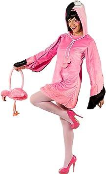 Estrafalario Disfraz de Flamingo para Dama / Rosa Fucsia en Talla ...