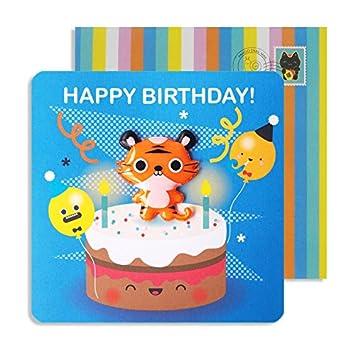 Geburtstag Jelly Magnet Katze Katzchen Auf Kuchen Happy Birthday Kid S