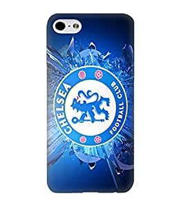 3D Cover Chelsea Football Teams Logo for Iphone 6 / 6s Funda Case Cover Protector Printed Pattern Hard Back Popular Design for Guys