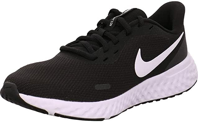 Nike Revolution 5, Women's Road Running Shoes, Black (Black/White-Anthracite), 39 EU