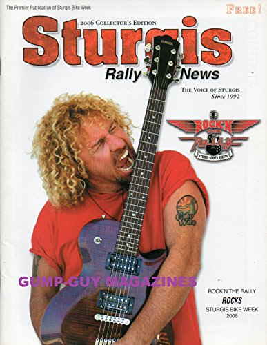 STURGIS Rally news 2006 Collector's Edition The Premier Publication Bike Week SOUTH CENTRAL CHOPPERS Led Sled Customs SUCKER PUNCH SALLY'S Rat's Hole Bike Show